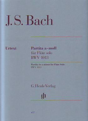 J. S. Bach - PARTITA a-MOLL FÜR FLÖTE SOLO BWV 1013 URTEXT (EPPSTEIN)