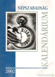 Népszabadság kalendárium 2002 [antikvár]