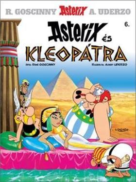René Goscinny - Asterix 6. -  Asterix és Kleopátra