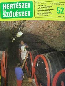 Pethő Ferenc - Kertészet és Szőlészet 1978. (nem teljes évfolyam) [antikvár]