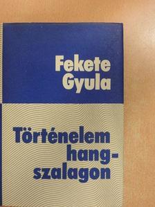 Fekete Gyula - Történelem hangszalagon [antikvár]