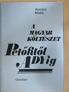 Komlós Aladár - A magyar költészet Petőfitől Adyig [antikvár]