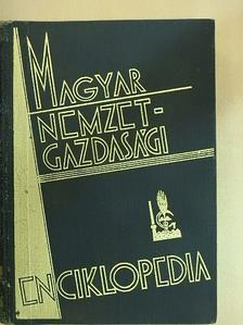 Bacsó Nándor - Magyar nemzetgazdasági enciklopédia I. [antikvár]