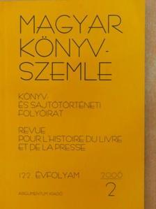 Balázs Attila - Magyar Könyvszemle 2006/2. [antikvár]