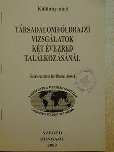 A magyarországi településállomány változásainak néhány sajátossága [antikvár]
