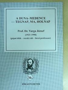 Harsányi László - A Duna-medence - tegnap, ma, holnap/Prof. Dr. Varga József (1923-1998) (pápai diák - recski rab - bécsi professzor) [antikvár]