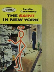 Leslie Charteris - The Saint in New York [antikvár]