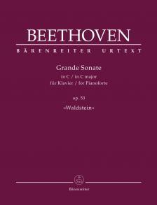 "BEETHOVEN - GRANDE SONATE IN C FÜR KLAVIER OP.53 (""WALDSTEIN"")"
