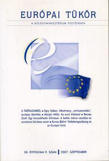 Forgács Imre - Európai tükör 2007. szeptember [antikvár]