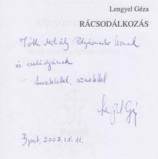 Lengyel Géza - Rácsodálkozás (dedikált) [antikvár]