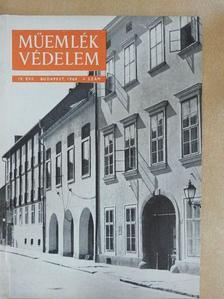 Csorna Antal - Műemlékvédelem 1960/4. [antikvár]