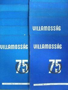 Almási Sándor - Villamosság 1975. január-december [antikvár]