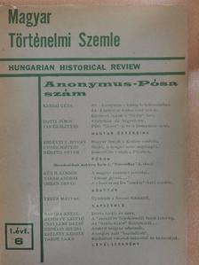 Bartha Antal - Magyar Történelmi Szemle 1970. december [antikvár]