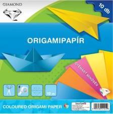 566 - Origami hajtogató lapok 20x20 cm Gyémánt