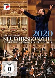 STRAUS - NEW YEAR'S CONCERT 2020 DVD WIENER PHILHARMONIKER - ANDRIS NELSON
