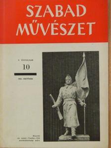 Bardon Alfréd - Szabad Művészet 1951. október [antikvár]