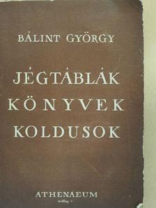 Bálint György - Jégtáblák, könyvek, koldusok [antikvár]