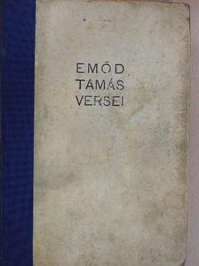 Emőd Tamás - Emőd Tamás versei [antikvár]