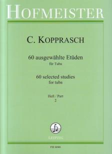 KOPPRASCH, C. - 60 AUSGEWAEHLTE ETÜDEN FÜR TUBA HEFT 2