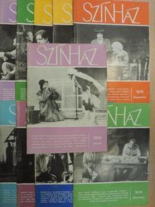 Fodor Géza - Színház 1976. (nem teljes évfolyam) [antikvár]
