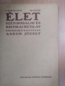 Margitay Ernő - Élet 1909. október 24. [antikvár]