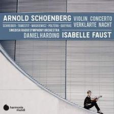 SCHOENBERG - VIOLIN CONCERTO CD HARDING