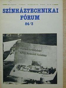 Dévényi Róbert - Színháztechnikai Fórum 1984. szeptember [antikvár]