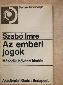 Szabó Imre - Az emberi jogok [antikvár]