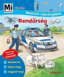 Stefan Richter - Mi MICSODA Junior Matricás rejtvényfüzet - Rendőrség