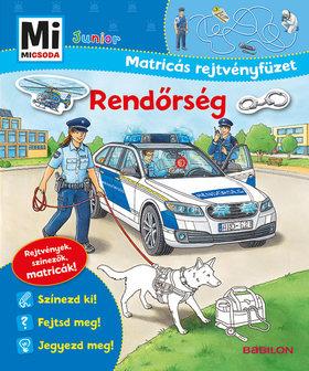 Stefan Richter - Rendőrség - Junior Matricás rejtvényfüzet