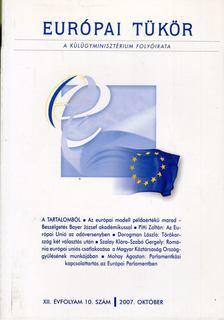 Forgács Imre - Európai tükör 2007. október [antikvár]