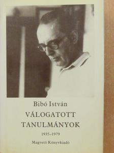 Bibó István - Válogatott tanulmányok IV. [antikvár]