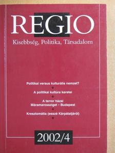 Bakk Miklós - Regio 2002/4. [antikvár]