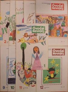 Ágai Ágnes - Óvodai nevelés 1982. (nem teljes évfolyam) [antikvár]