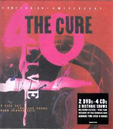 THE CURE - CURAETION 4CD+2DVD THE CURE - 25 ANNIVERSARY EDITION