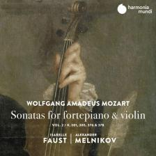 MOZART - SONATAS FOR VIOLIN & PIANO CD FAUST