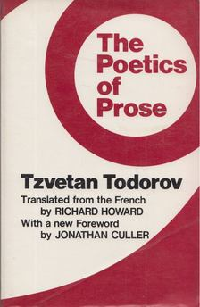 Tzvetan Todorov - The Poetics of Prose [antikvár]