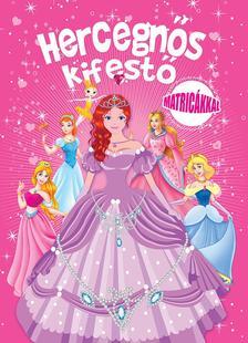 - - Hercegnős kifestő matricákkal