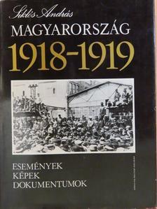 Siklós András - Magyarország 1918-1919 [antikvár]