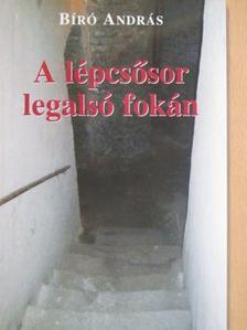 Bíró András - A lépcsősor legalsó fokán [antikvár]
