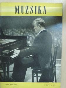 Fasang Árpád - Muzsika 1958. április [antikvár]