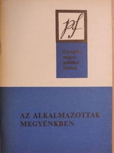 Bálint Gyula György - Az alkalmazottak megyénkben [antikvár]