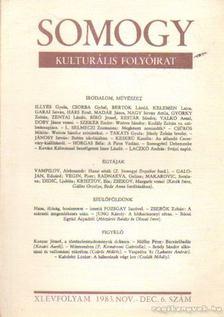 Laczkó András - Somogy 1983. nov.-dec. 6. szám [antikvár]