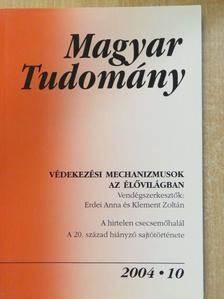 Andó István - Magyar Tudomány 2004. október [antikvár]