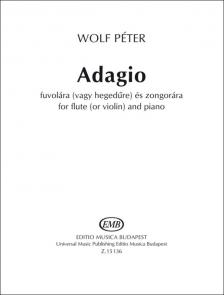 WOLF - ADAGIO - FUVOLÁRA (VAGY HEGEDŰRE) ÉS ZONGORÁRA