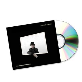 YOU WANT IT DARKER CD LEONARD COHEN