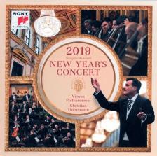 ZIEHRER, STRAUSS, HELLMESBERGER - NEW YEAR'S CONCERT 2019 2CD CHRISTIAN THIELEMANN