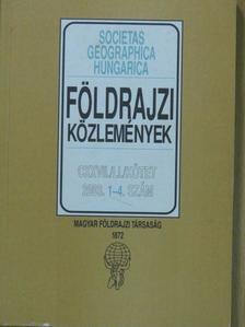 Abonyiné Palotás Jolán - Földrajzi Közlemények 2003/1-4. [antikvár]