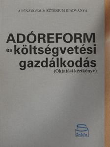 Dr. Békesi László - Adóreform és költségvetési gazdálkodás [antikvár]