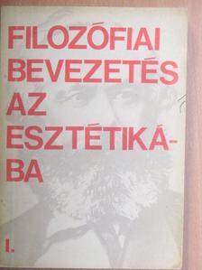 Gondi József - Filozófiai bevezetés az esztétikába I. [antikvár]